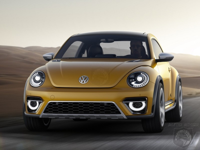 DETROIT AUTO SHOW: Volkswagen Tarts Up The Beetle With The Dune Concept — Is It Ready For Primetime?